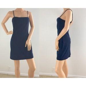 Cute navy dress size medium